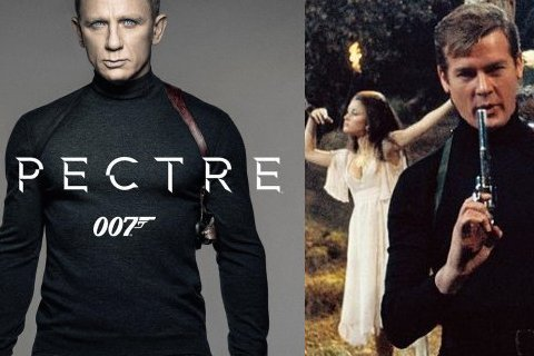 最新一集的《007:惡魔四伏(Spectre)》首款海報正式曝光囉!看飾演007的丹尼爾克雷格(Daniel Craig)這次沒有穿西裝,是一身黑色休閒服造型,肩上配戴著槍套,右手拿著槍,這麼簡約風...