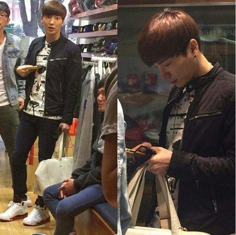 韓國SMTOWN 家族演唱會台灣場今天(3月21日)在新竹體育場舉行,Super Junior隊長利特昨天先抵台。來台不少次的利特顯然已對台灣非常熟悉,已經外出趴趴走了。說來台灣要買鞋的他,昨日就真...