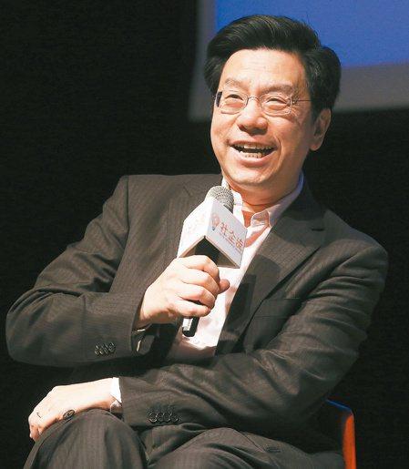 社企流上午舉辦三周年論壇,創新工場董事長李開復專題演說。 記者楊萬雲/攝影