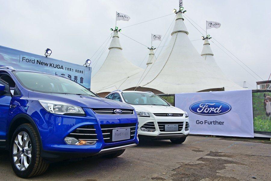 福特2015年式Kuga新車,動力編成增加2.0 TDCi柴油版與1.5 Eco...