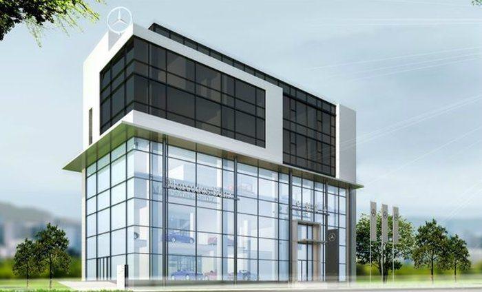 中彰賓士台中全功能展示中心將以全新面貌於2015年底投入營運。 台灣賓士提供