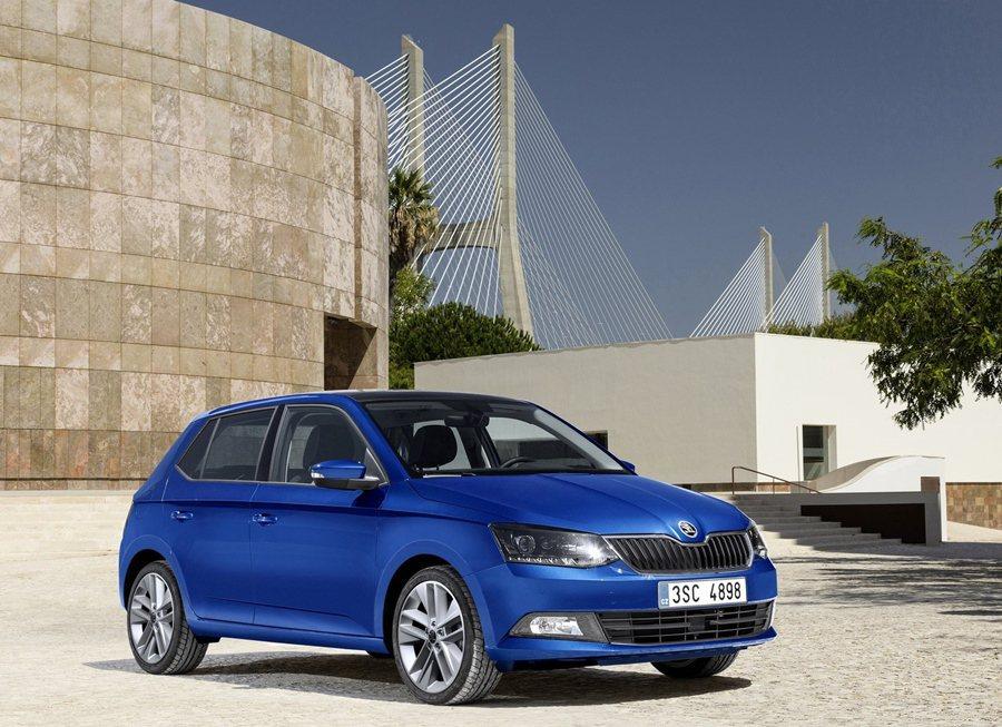 全新小型車FABIA預計四月上市。 SKODA提供