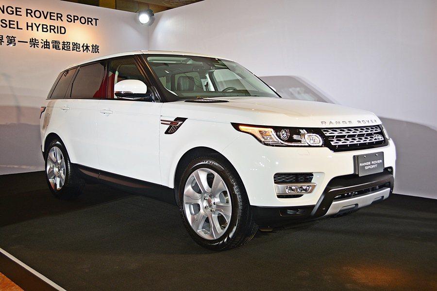 九和汽車引進世界首部量產柴油電力休旅車Range RoverSport Dies...