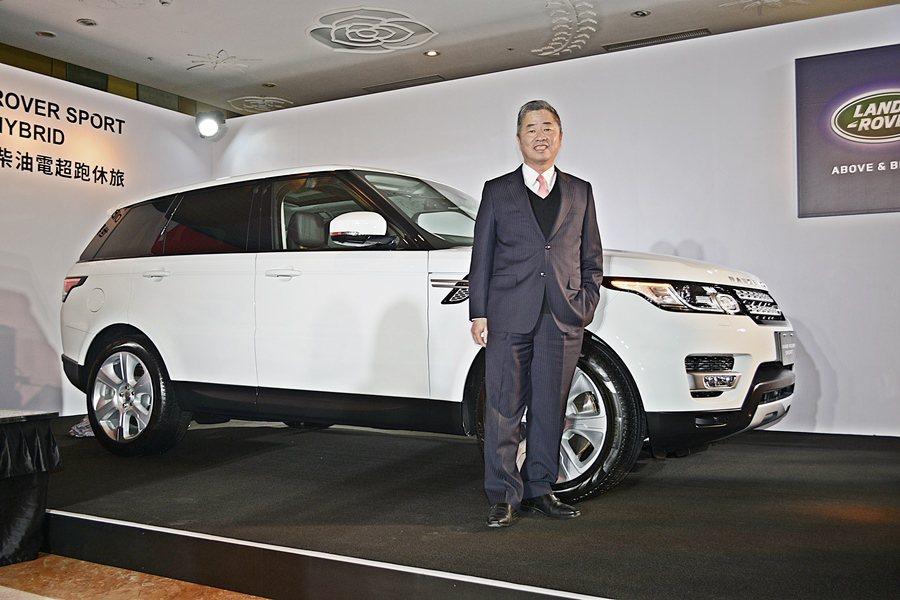 Jaguar與 Land Rover總代理九和汽車總經理陳貽彬表示,今年雙品牌有...