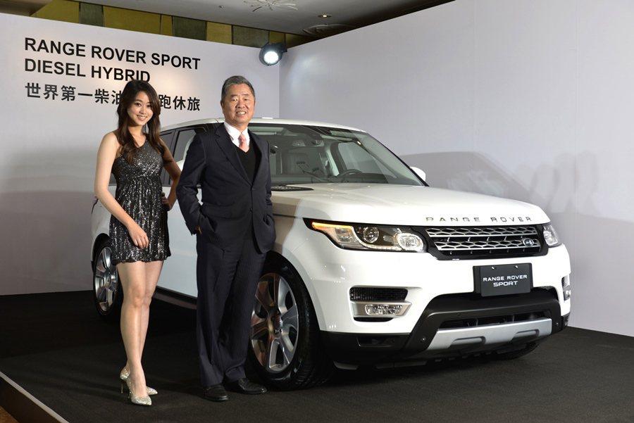 10日發表的全新Range Rover Sport Diesel Hybrid柴...