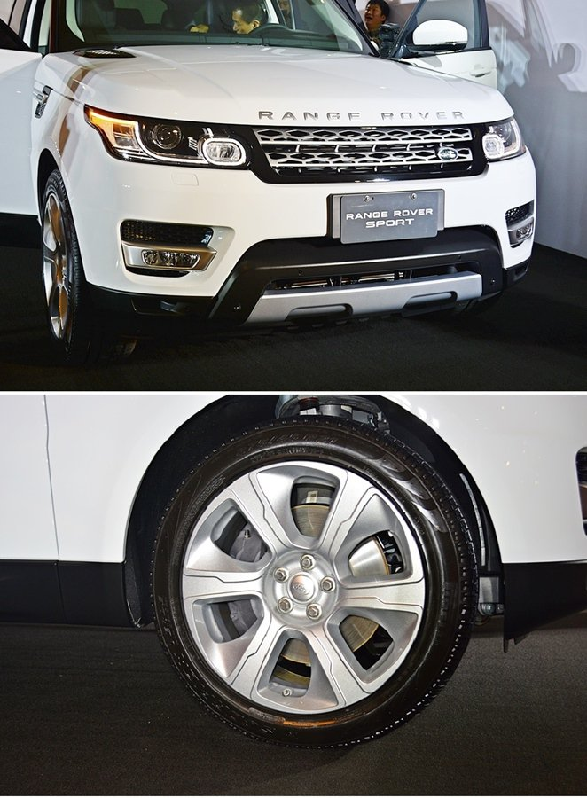 Range Rover Sport Diesel Hybrid外型設計有飛翼式車...