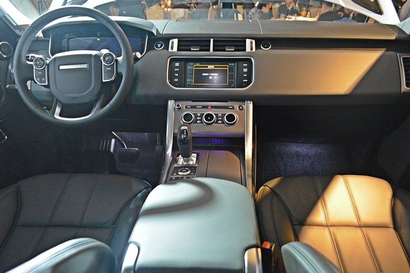 Range Rover Sport Diesel Hybrid也有和Range ...