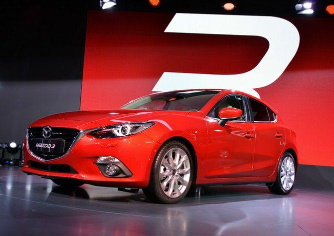圖為 Mazda 3。 原廠提供