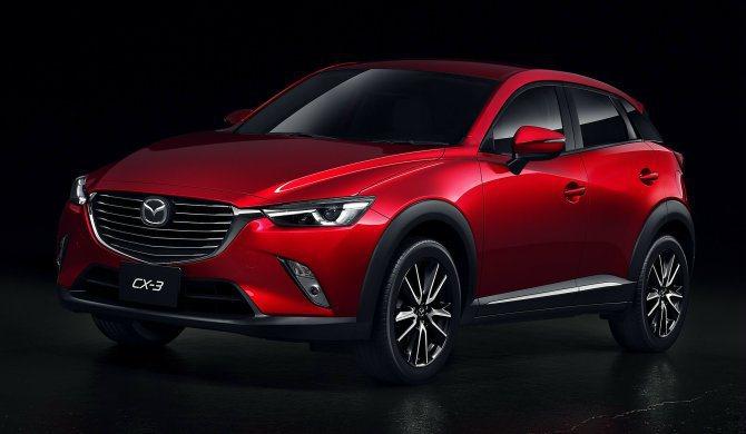 台灣馬自達的下一劑重砲:Mazda CX-3跨界小休旅將再掀起另外一股旋風。 原...