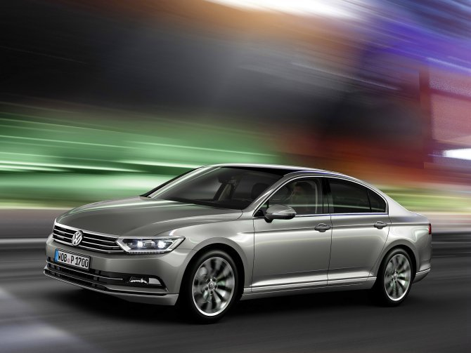 過去曾經在進口中大型房車級距表現也十分亮眼的Volkswagen Passat,...