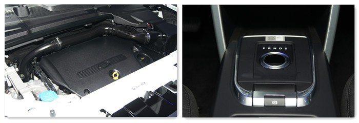 搭載ZF九速手自排變速箱,並提供2.0升汽油引擎與柴油引擎雙動力。 記者林翊民/...
