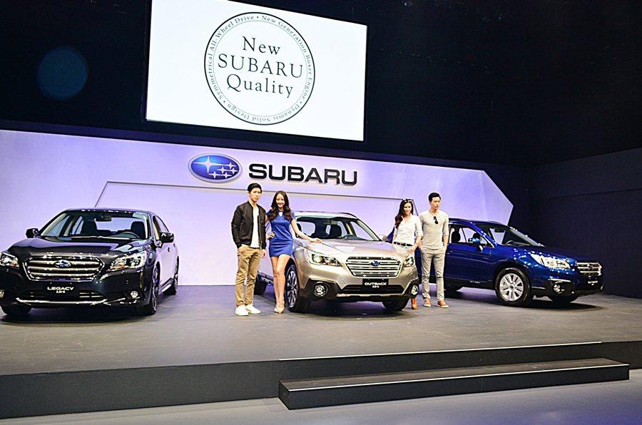 Subaru總代理推意美汽車3月26日發表出全新Legacy和Outback,不...