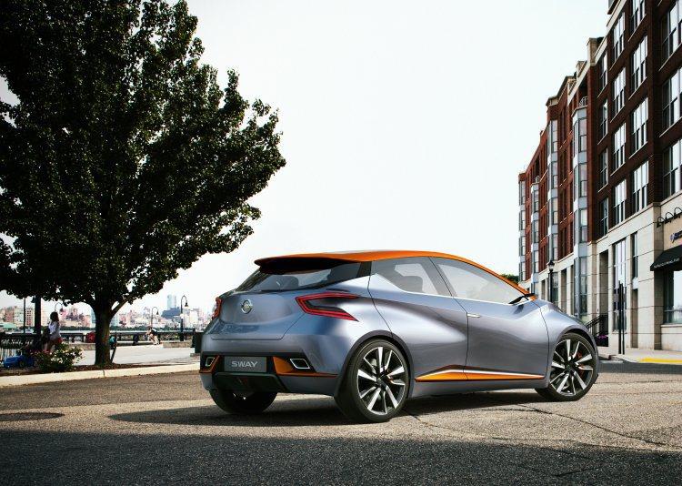 車頂、側群及後下擾流以鮮豔的橘色妝點,頗收畫龍點睛之效;小巧的車身搭配稜角分明的...
