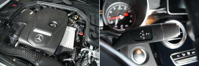 C250 Estate搭載2.0升渦輪增壓引擎,搭配7G-Tronic變速箱,可...