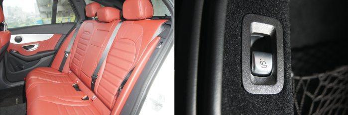 採用4/2/4後座椅背設計,提供多元的空間變化,搭配後門邊與行李廂旁的椅背快傾按...