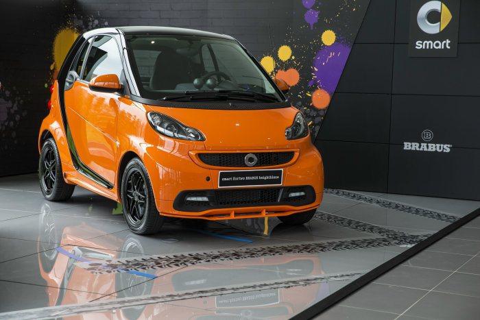 smart fortwo新年式車款同樣優惠實施。 台灣賓士提供