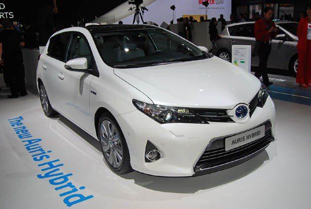 Toyota歐洲推出與Corolla共用底盤的Auris hybrid Toyo...