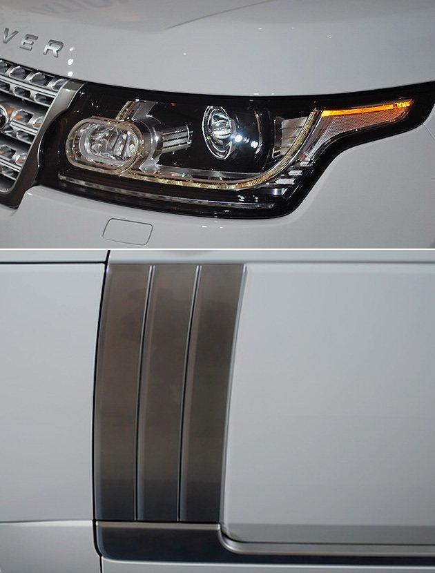 頭燈與車側的鰓。 趙惠群