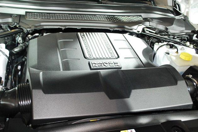 5.0L機械增壓引擎最大馬力達510hp 趙惠群