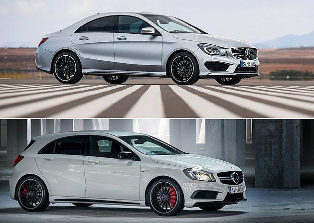 CLA-Class與A45 AMG,將攻占年輕市場。 M-Benz