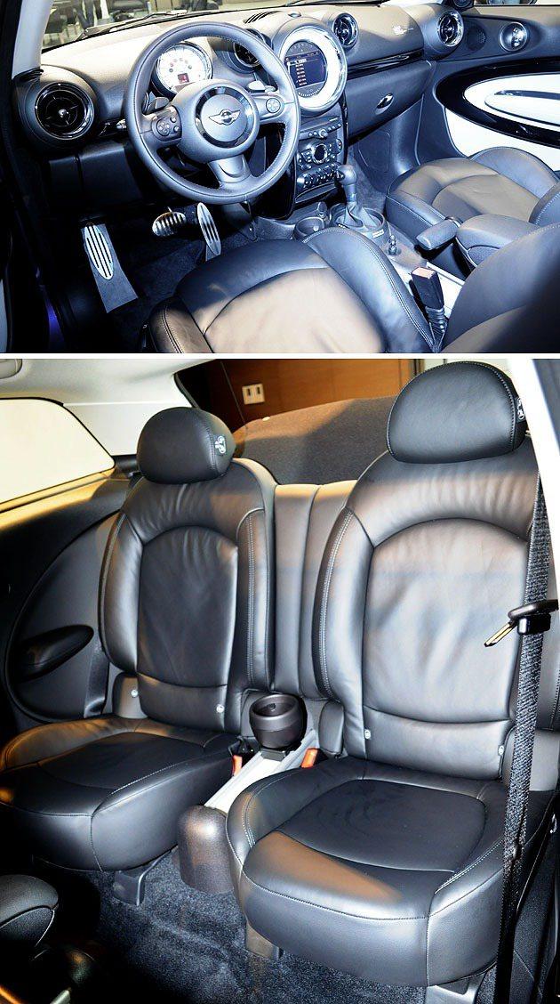 駕駛艙維持MINI一貫的設計,後座採獨立座椅。 蔡志宇