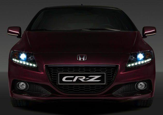 CR-Z特仕款將在年中左右發表。 Honda