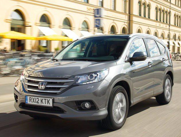 CR-V在去年10月改款上市後銷售成績亮眼。 Honda