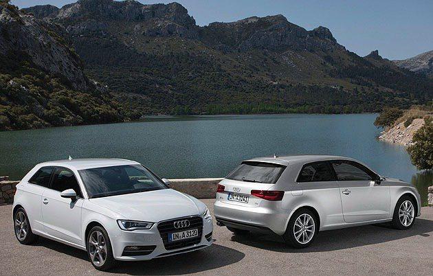 新世代A3。 Audi