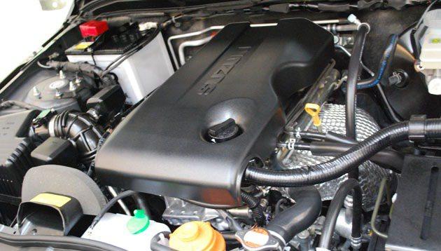 Grand Vitara JP的2.4L汽油引擎經過調校符合五期環保準。 趙惠群