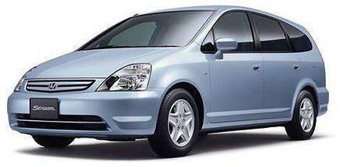 Honda Stream休旅車也在召修之列。 Honda