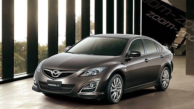 圖為 Mazda6。 Mazda 提供