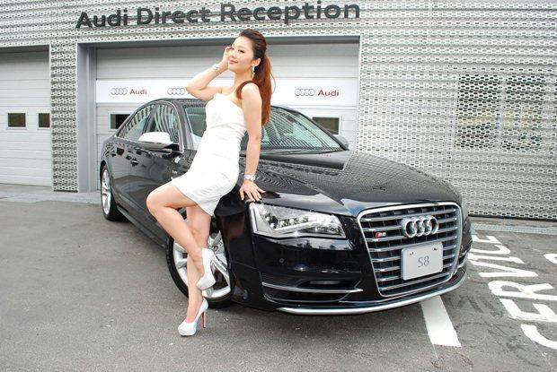 S8外觀充滿個性化和跑車性格。 趙惠群