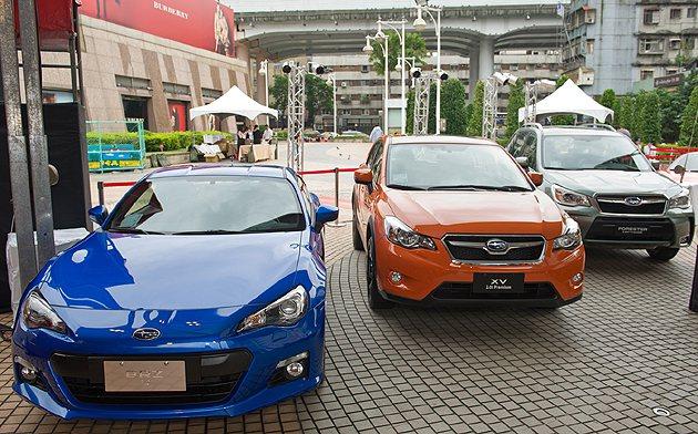 Subaru新車陣容。 蔡志宇