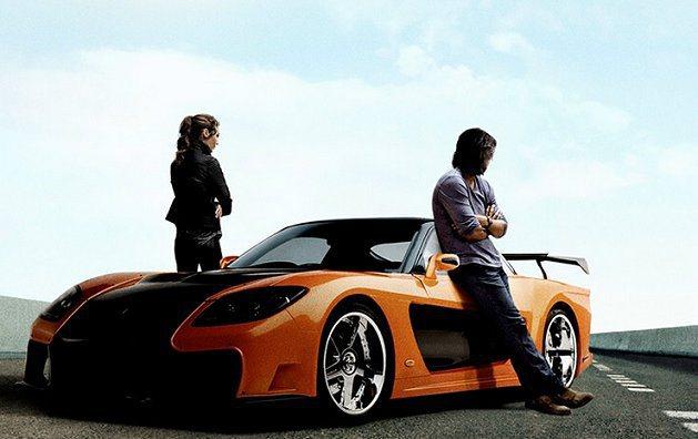Mazda RX-7跑車帥氣現身。 玩命關頭6官網