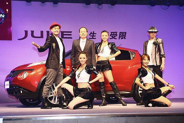 Nissan Juke的前衛外型,將可吸引不少年輕消費者。 蔡志宇