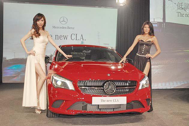 四門轎跑CLA有著十分誘人的運動化造型。 趙惠群