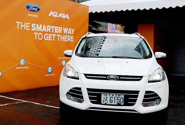 Kuga建議預購售價為88.8萬元起 Ford