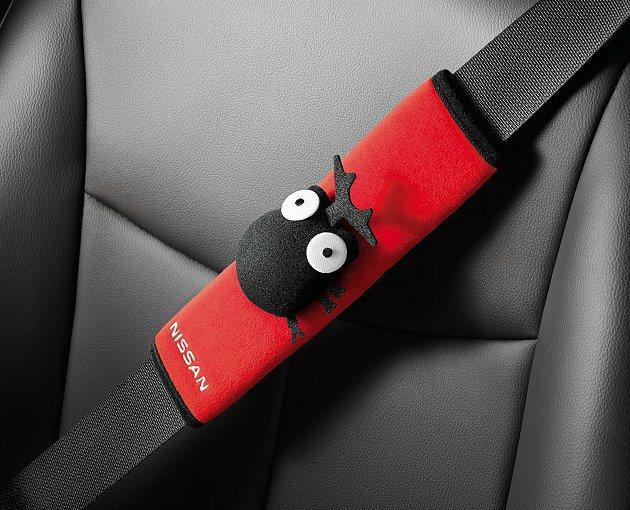 Nissan Livina「野Fun版」加贈安全又舒適的獨角仙安全帶護套。 Ni...