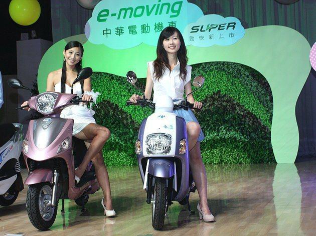 e-moving環保節能,又省燃料費。 林和謙