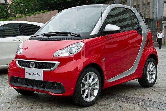 smart fortwo低油耗及低排碳,相當環保。 Mercedes-Benz