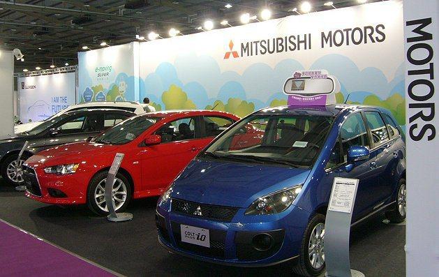 2013台中國際新車大展,一次聚集Mitsubishi最受歡迎的暢銷車款。 Mi...