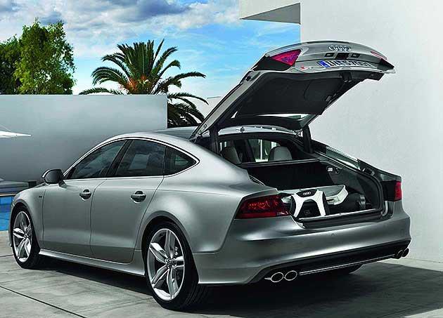 S7 Sportback車尾線條。 Audi Taiwan