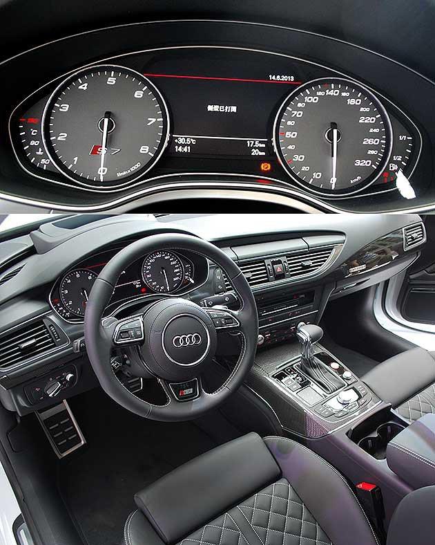 S車款的性能化內裝。 趙惠群