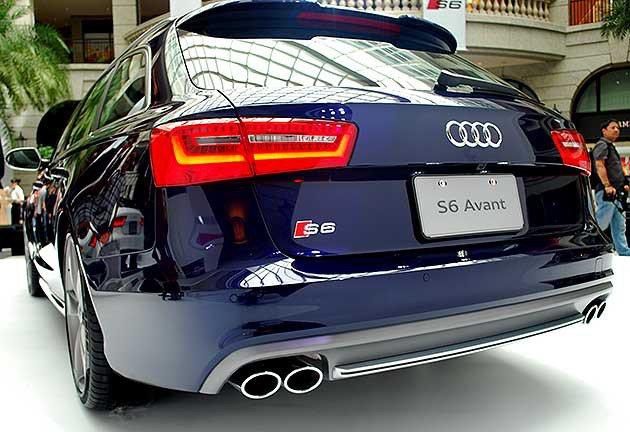 S6 Avant車尾 趙惠群