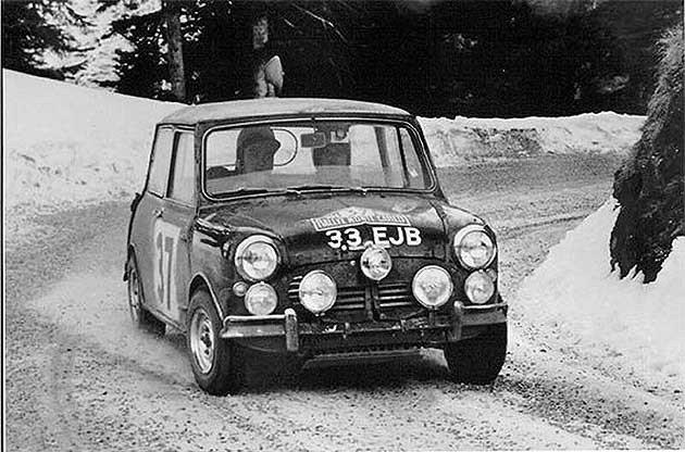 雪地駕駛對Rauno Aaltonen來說跟一般道路一樣。 編輯部