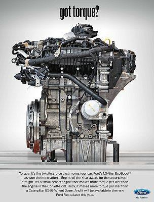 福特獨家科技EcoBoost 1.0L引擎再次獲得國際肯定。 Ford