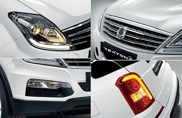 車頭的改款是Rexton W的重點。 Ssangyong