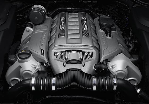4806c.c.V8引擎,動力輸出550hp。 Porsche