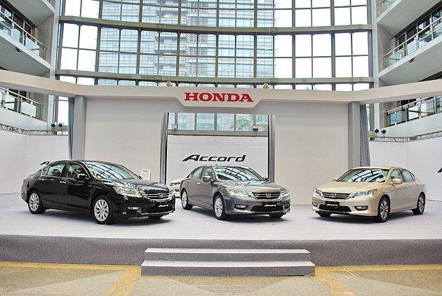 全新九代Accord開賣,依規格不同共推出三個車型。 趙惠群
