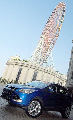 Kuga在高雄義大世界發表,希望更貼近中南部消費者。 蔡志宇